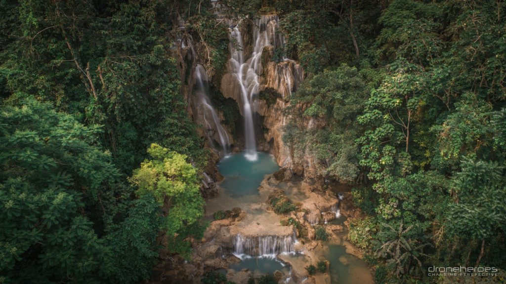 7 Tips to Take Your Travel Photography to a Higher Level from Drone Heroes 1 waterfalls