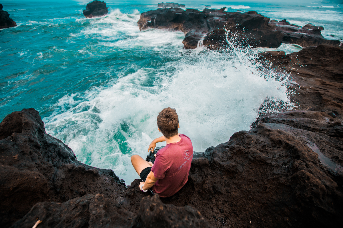 7 Tips to Take Your Travel Photography to a Higher Level from Drone Heroes 9 ocean waves rocks